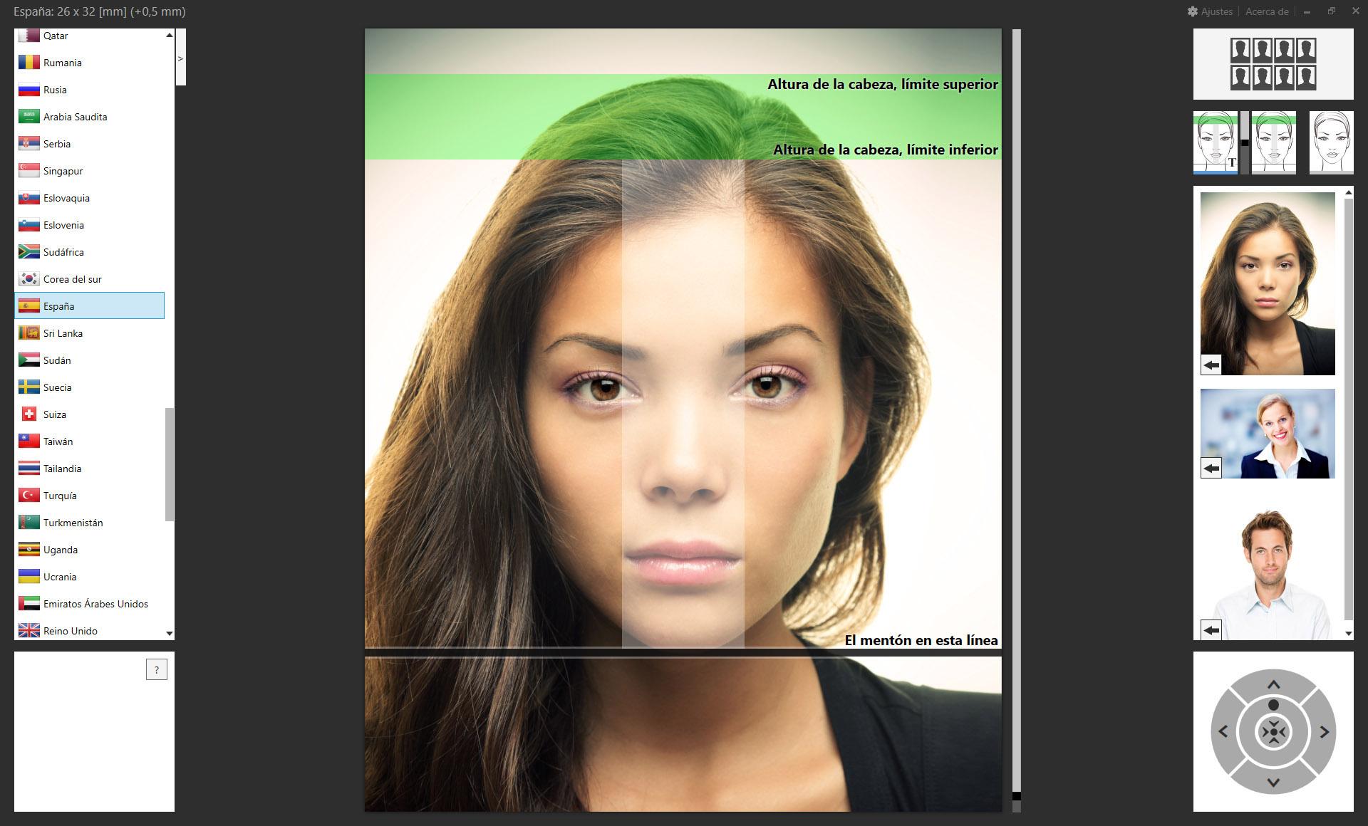 Plugin de Fotografía de pasaporte para Adobe Lightroom Classic y ...